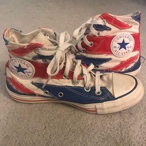 e4b59162f7ab Converse. SUPER RARE Converse British Flag ...